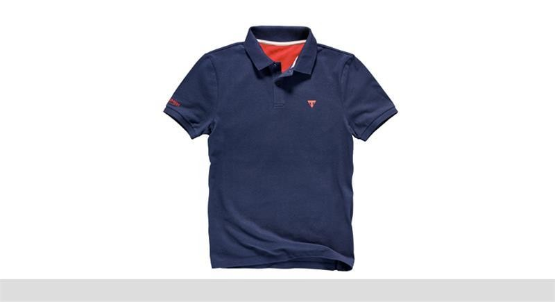 TRIUMPH Navy Mens Polo