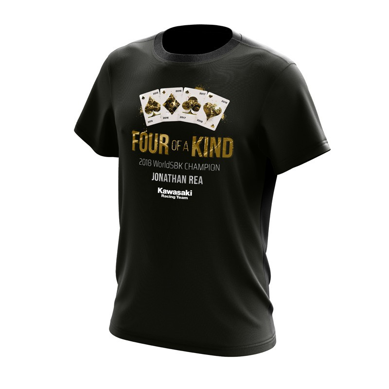 Kawasaki Four of a kind - Jonathan Rea shirt