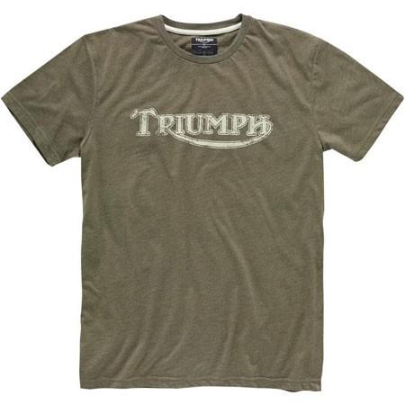 TRIUMPH Vintage Logo Khaki Tee