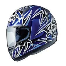 Arai Astro-R Twisted Blue