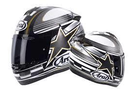 Arai Axces II Star Flag Grey