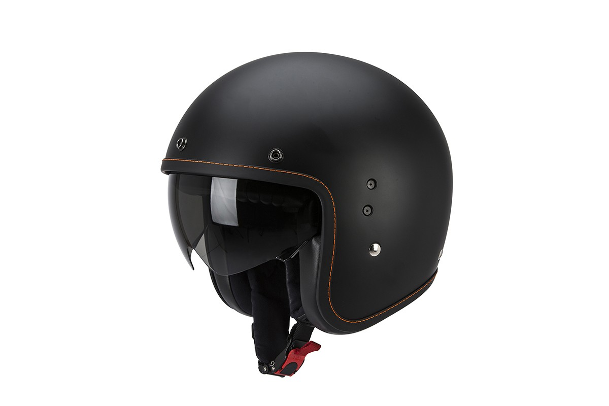 Scorpion Belfast Helm Solid Matte Black