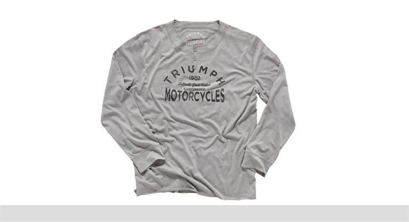 TRIUMPH Custom Henley Shirt