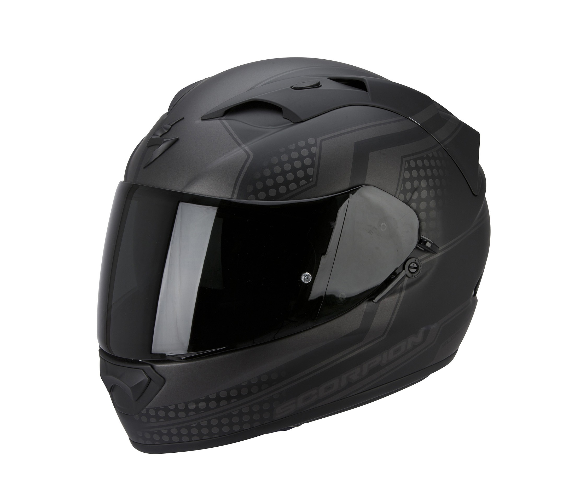 Scorpion EXO-1200 Air Helm Alias Matte Black-Silver