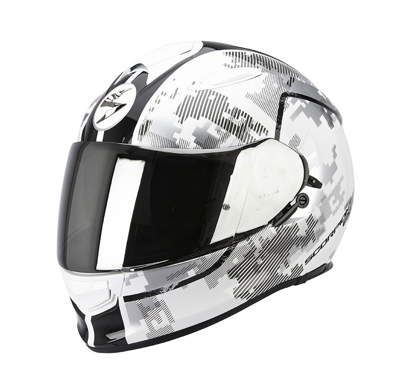 Scorpion EXO-510 Air Motorhelm Guard Wit / Zwart