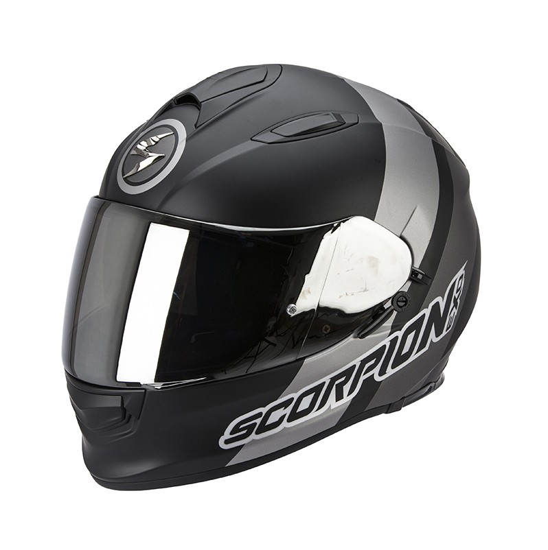 Scorpion EXO-510 Helm Air Hero Matte Black-Silver