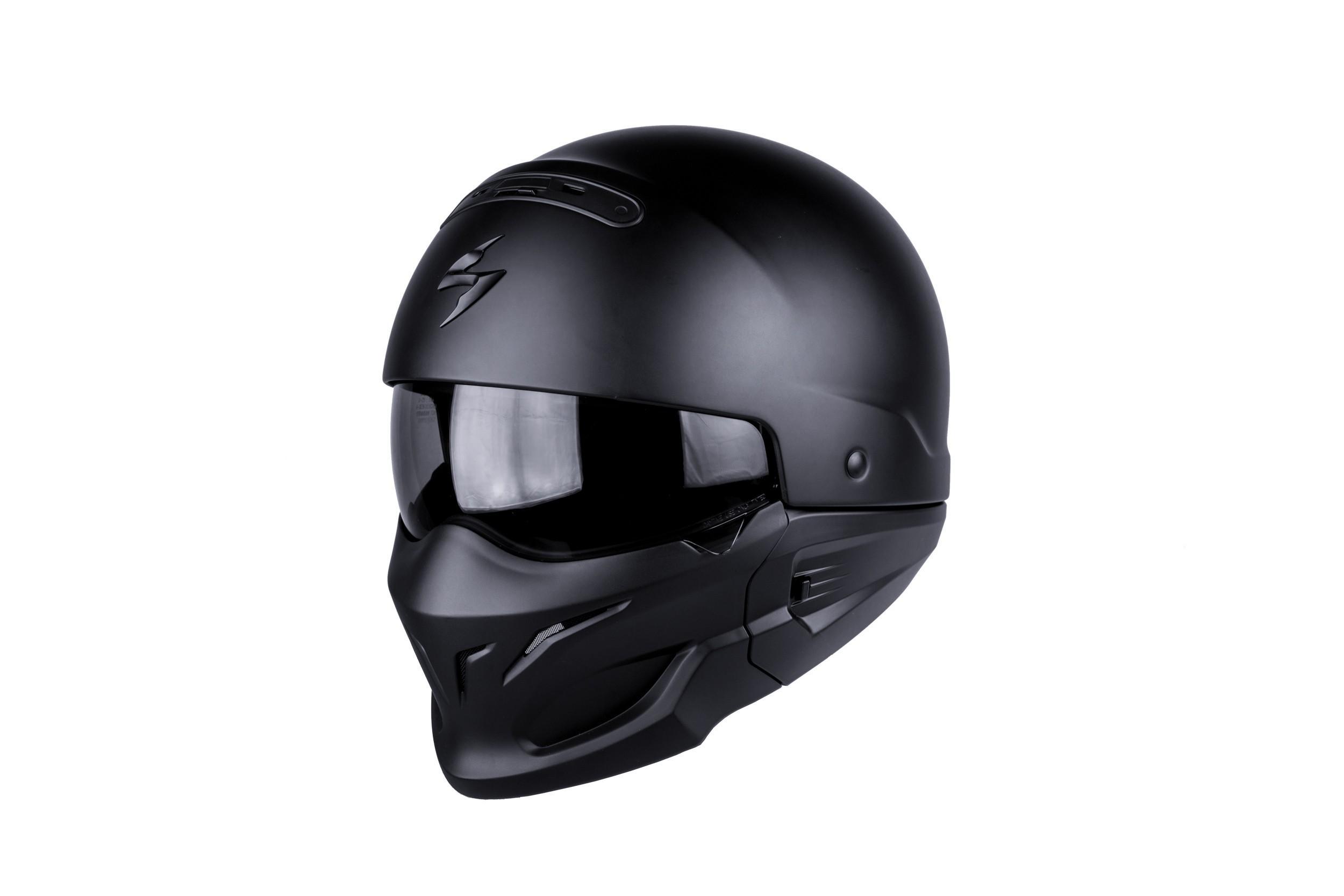 Scorpion Exo-Combat Solid Matt Black