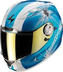 Scorpion EXO-1000 Air Helm Hi Impact Blauw