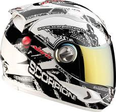 Scorpion EXO-1000 Air Helm Pulse White