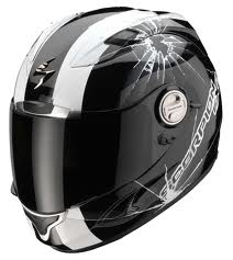 Scorpion EXO-1000 Air Helm Hi Impact Black/White