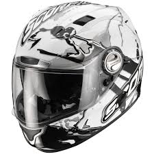 Scorpion EXO-1000 Air Helm Splash White