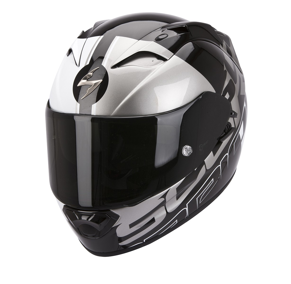 Scorpion EXO-1200 Air Helm Quarterback Black/White/Silver