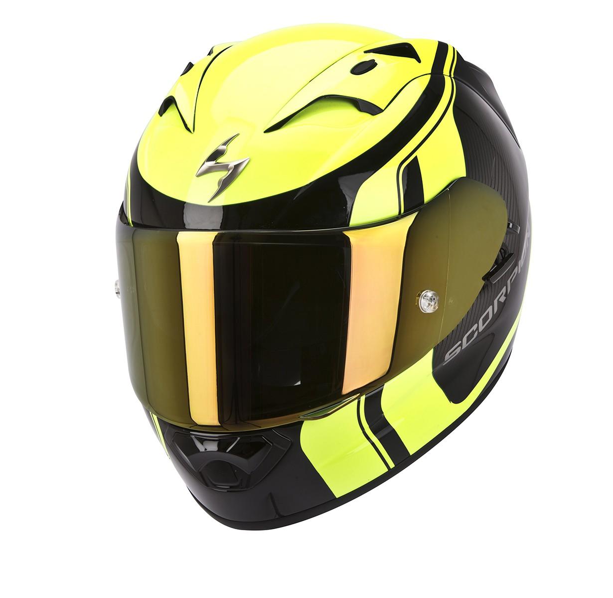 Scorpion EXO-1200 Air Helm Stream Tour Geel