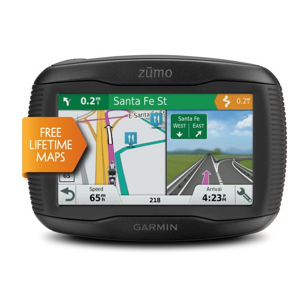 Garmin Zumo 395 + Lifetime Update