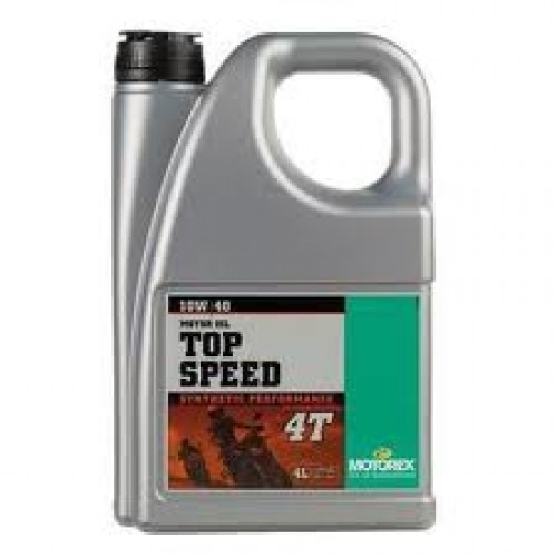 Motorex 10W40 TopSpeed Semi Synthetic 4liter (Synthetic Performance)