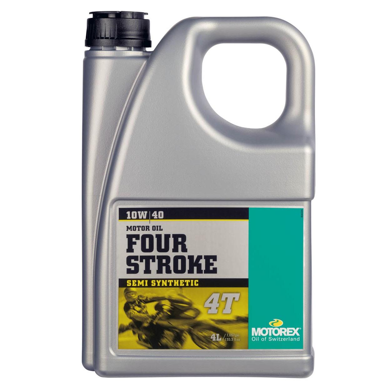 Motorex 10W40 Half Synthetisch Olie 4liter