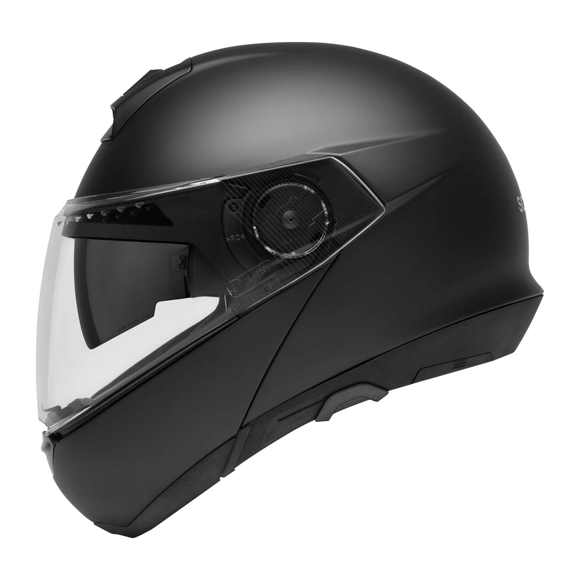 Schuberth C4 helm Mat Zwart