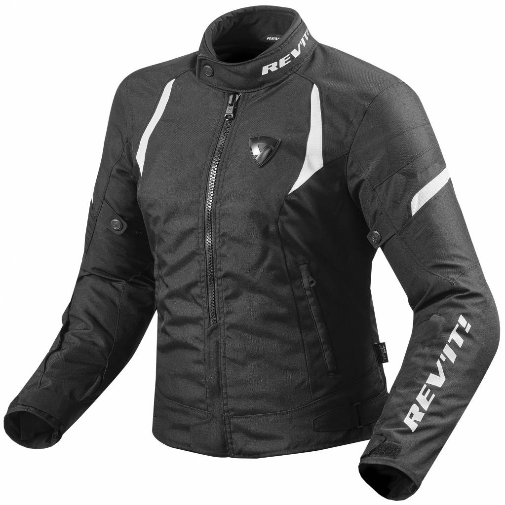 REV'IT! Jupiter 2 Motorjas Zwart/Wit (Dames)