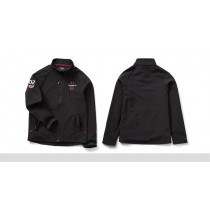 TRIUMPH Mens Black Soft Shell
