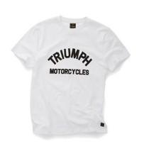 TRIUMPH Burnham Tee Wit