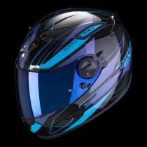 SCORPION Exo-490 Motorhelm Nova Zwart / Blauw
