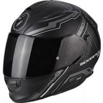 Scorpion EXO-510 Air Sync Helm Mat Zwart/Zilver