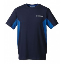 SUZUKI Team T-Shirt Blauw