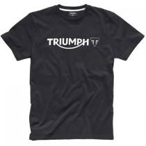 TRIUMPH Logo T-Shirt Black