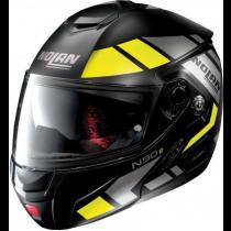 NOLAN N90.2 Motorhelm Euclid 27 Flat Black