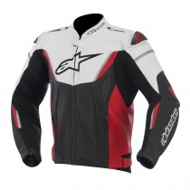 Alpinestars GP-R Leather Jacket Zwart/Wit/Rood / Jas