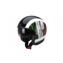 Scorpion Belfast Helm Roma Black-Green-Red