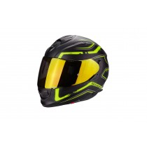 Scorpion Exo-510 Helm Radium Matt Black Neon Yellow