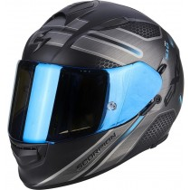 Scorpion EXO-510 Air Route Helm zwart / blauw