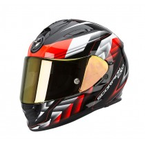 Scorpion EXO-510 Air Motorhelm Scale Zwart / Rood