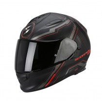 Scorpion EXO-510 Air Helm Sync Matte Black-Neon Red