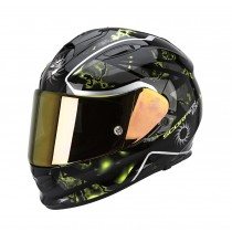Scorpion EXO-510 Air Helm Xena Black-Neon Yellow