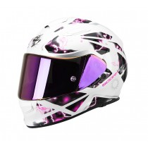 Scorpion EXO-510 Air Helm Xena Pearl White-Pink