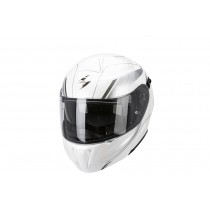Scorpion EXO-920 Helm Gem Pearl White-Silver