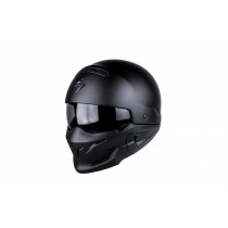 Scorpion Exo-Combat Helm Solid Matt Black