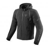 REV'IT! Burn Zwart Softshell Motorjas