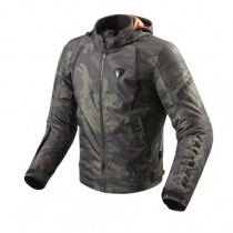 REV'IT! Flare Motorjas Army Green Camouflage