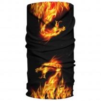 H.A.D. Fleece Dragon Burn