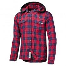HELD Lumberjack Motorjas Rood/Blauw