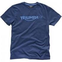 TRIUMPH Logo T-Shirt Navy