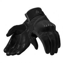 REV'IT! Mosca Motorhandschoenen Zwart / Zwart