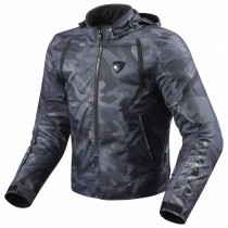 REV'IT! Flare Motorjas Black Camouflage