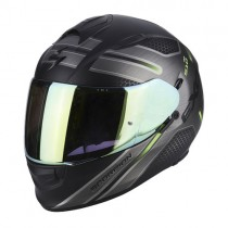 Scorpion EXO-510 Air Route Motorhelm Zwart / Groen
