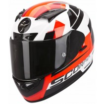 Scorpion EXO-710 Air Helm Square White/Red