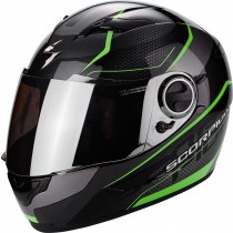 Scorpion Exo-490 Vision Helm Zwart / Groen