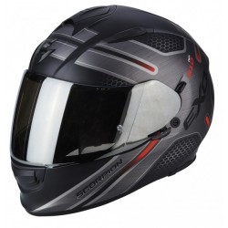 Scorpion EXO-510 Air Route Helm zwart / rood